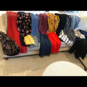 19 Target lot with dresses/ skirts/ pants etc